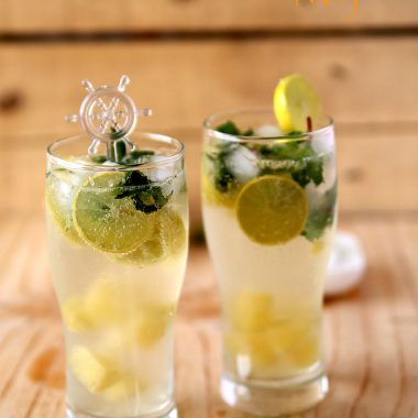 Virgin Pineapple Mojito