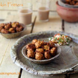Pumpkin Fritters / kadoo ke pakode
