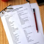 school Lunch box Ideas list