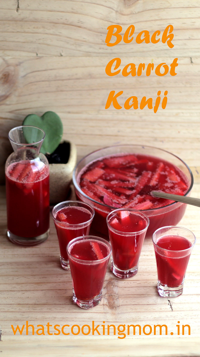 kali gajar kanji - black carrot kanji. Fermented, healthy, super delicious carrot drink