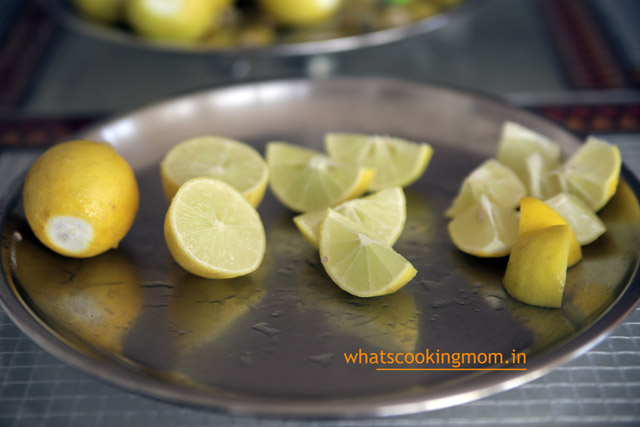 sweet lemon pickle - khatta meetha nimbu ka achar
