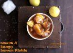 sweet lemon pickle | khatta meetha nimbu achar