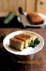 Eggless Zucchini Cake