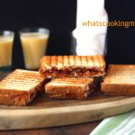 Masala Grilled Toast | kids lunch box recipe