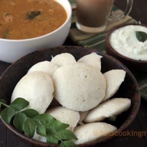 Rice Idli Recipe - how to make Rice idli batter