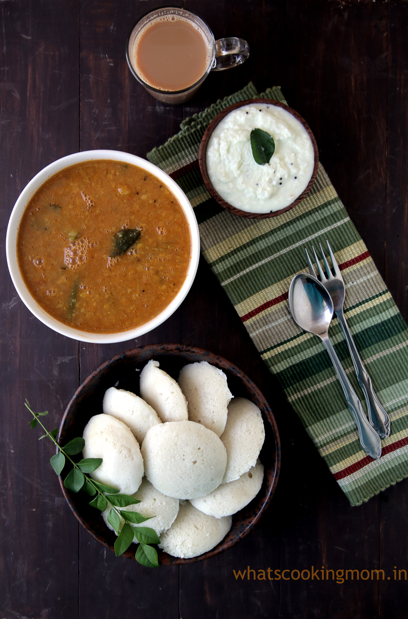 Rice Idli Recipe | How to make rice idli batter - whats ...