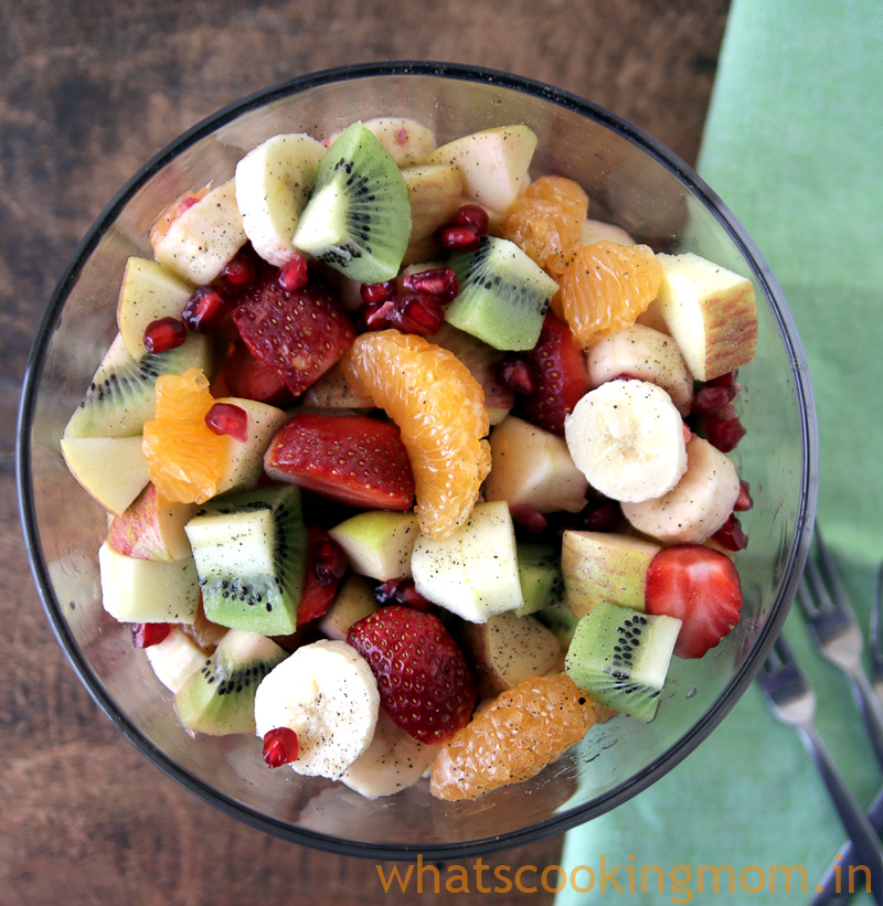 Winter Fruits Salad - Fruit Chaat. sweet and tangy, healthy snacking, yummy , kids favourite sancks, Fruits, nutritious