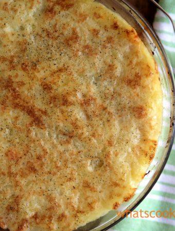 vegetarian shepherds pie - #shepherdspie #vegetarian #comfortfood #meatless #dinner #recipe #easyrecipe
