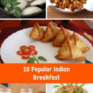 10 popular Indian Breakfast #vegetarian #traditionalfood #indian #breakfast #recipes