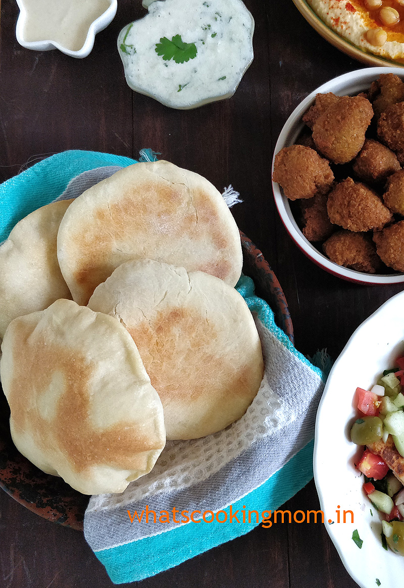 Homemade Pita bread recipe #easyrecipe
