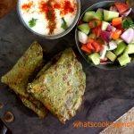 Split Green moong dal Cheela | lentil Crepes