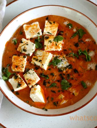 Paneer Butter masala - #rich #indian #curry #paneerrecipe #cottagecheesecurry