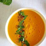 Yellow Zucchini Soup   healthy soup