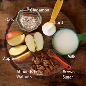 Apple oats Smoothie - #healthy #smoothie #apple #oats #cinnamon #breakfast