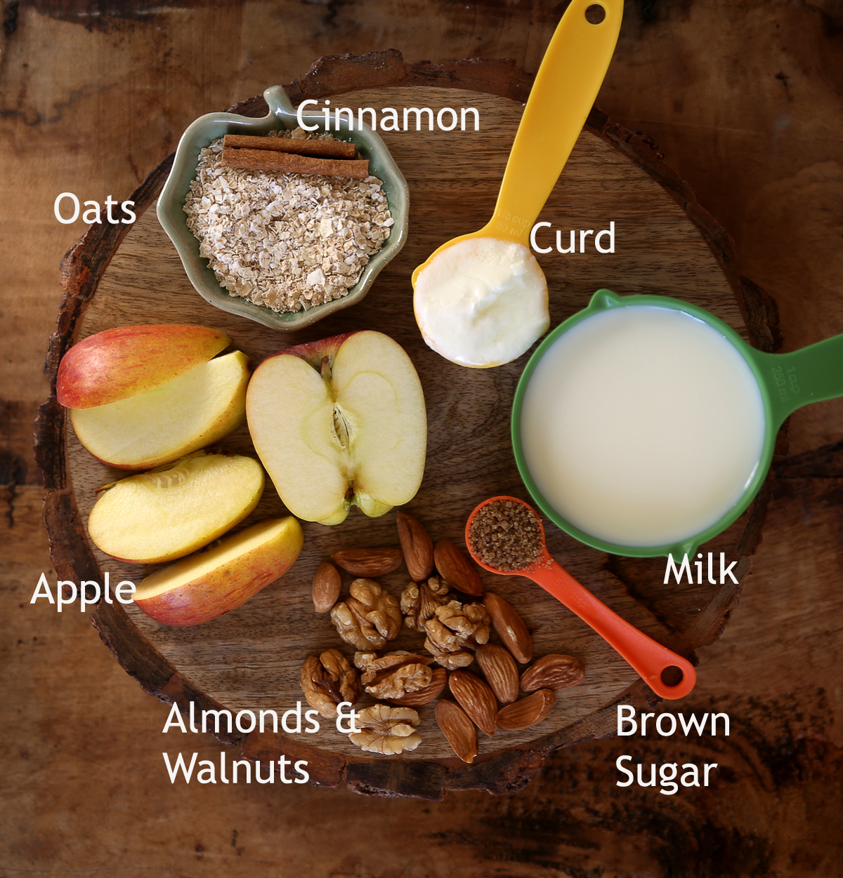 Apple oats Smoothie - #healthy #smoothie #apple #oats #cinnamon #breakfast