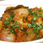 Aloo pyaz ki sabji (potato onion gravy)