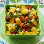 Sweet and sour mango salad