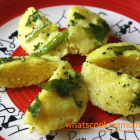 Suji dhokla | Healthy Vegetarian Snack