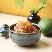 Sweet and Spicy raw mango chutney (Chunda)