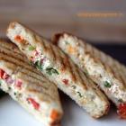 hung curd sandwich | kids school lunch recipe