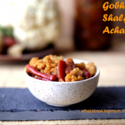 gobhi gajar shalgam achar | mix vegetable pickle