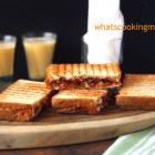 Masala Grilled Toast | kids lunch box recipe