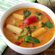 Veg Thai Red Curry Recipe