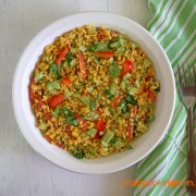 Yellow Moong Dal Salad