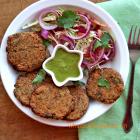 Kale Chane Kebab recipe | Black chickpea Kebab