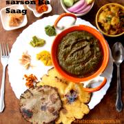 Sarson Ka Saag | traditional dish